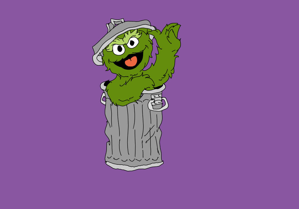 Oscar the Grouch by Wolf2567