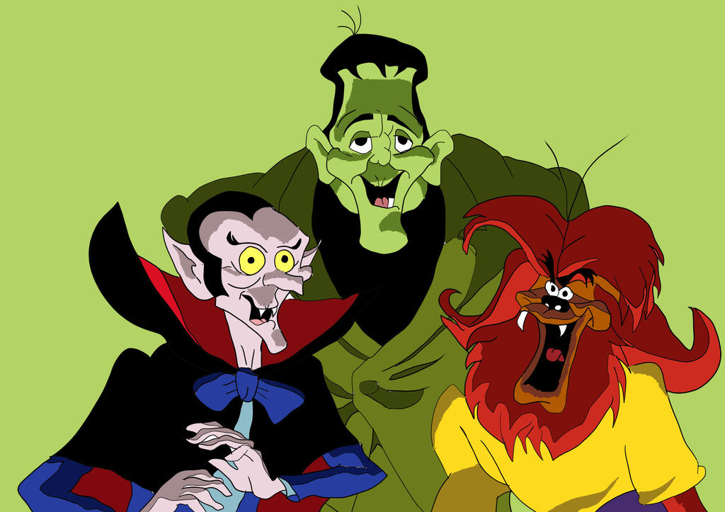 Groovy Ghoulies by Wolf2567