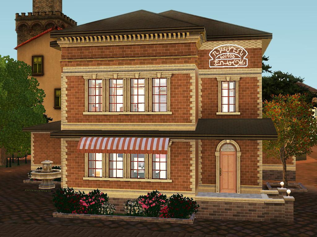Sims 3 mlle jolifleur 39 s beauty salon by simsrepublic on for Sims 3 salon moderne