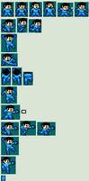 Mega Man (Helmetless)