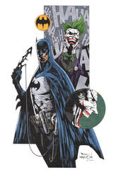 Batman Joker Davidson by krakenart