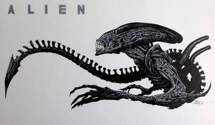 Alien by krakenart
