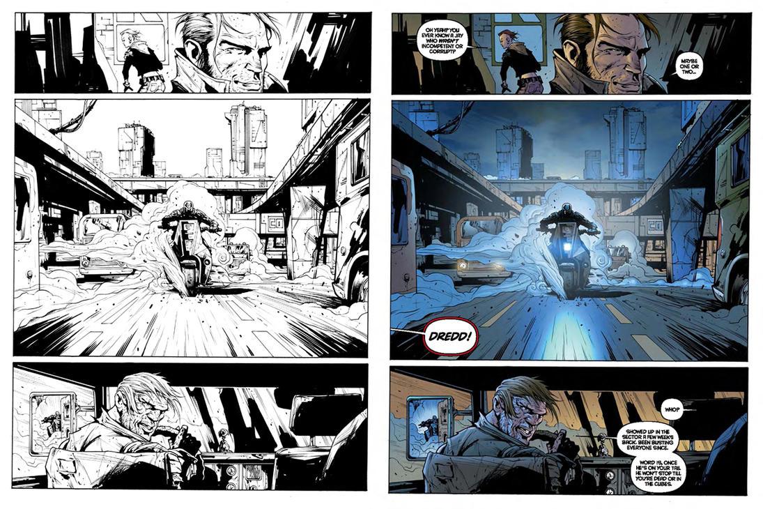 Uprise1 Page6 Davidson Colour by krakenart