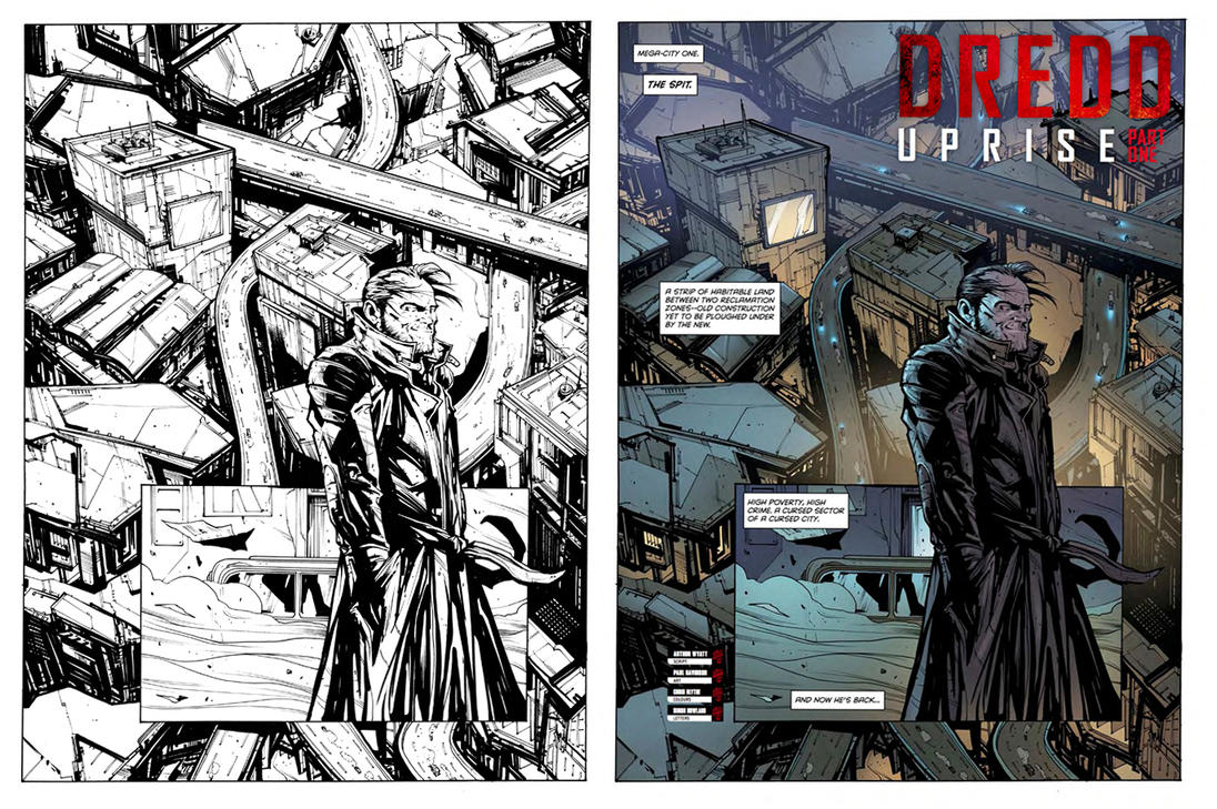 Uprise1 Page1 Davidson Colour by krakenart