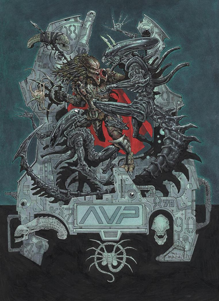 AVP by krakenart