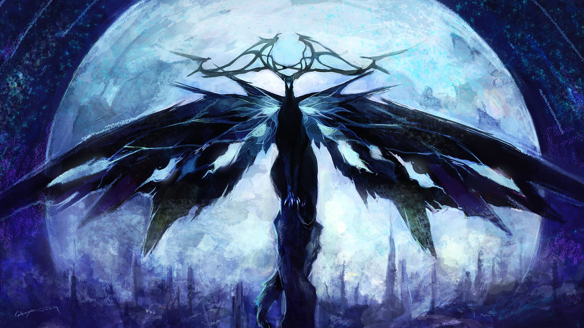 "Khonsu ""The Moon Walker"" Finished The_moon_heaven_by_sakaya0313"