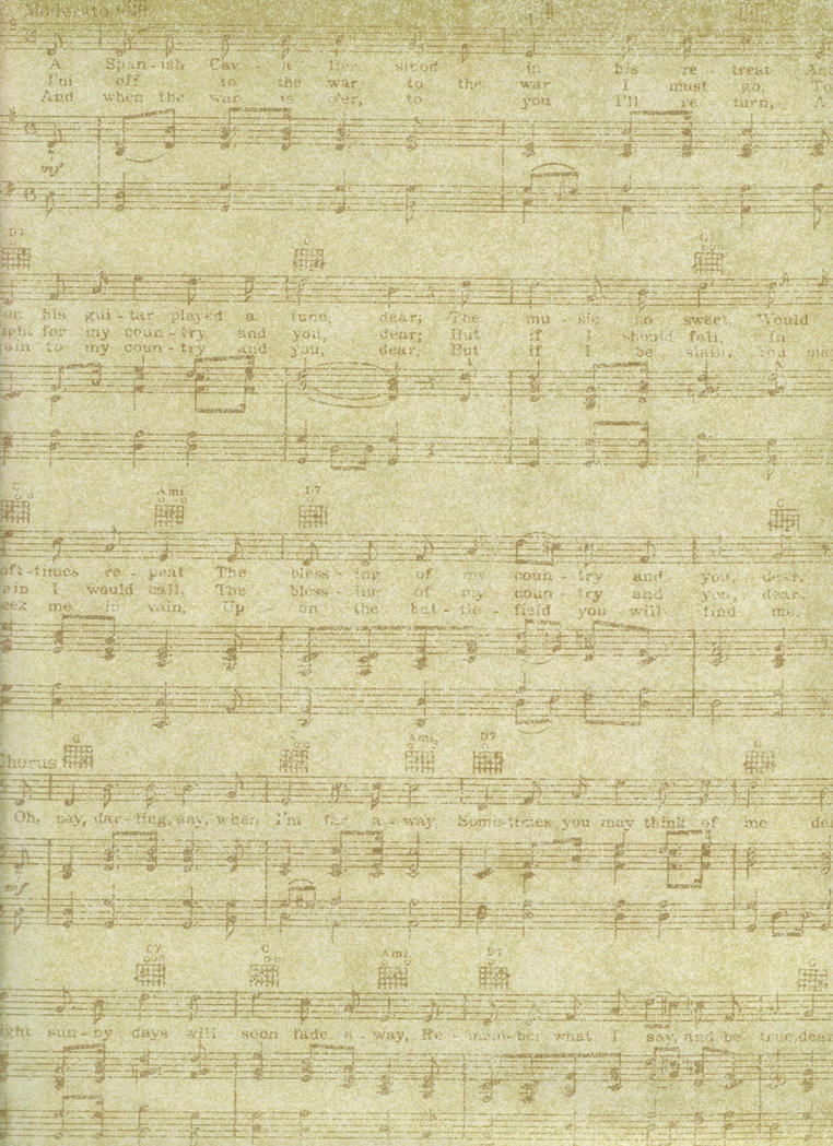 Musical Notes View 1 by FredtheCow-Stock