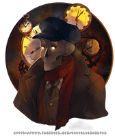 Mecanimus - Clockmaster by rosy-Clockomaton