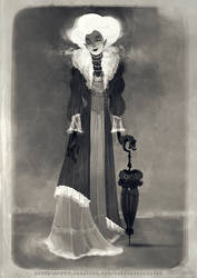 A Curious Photograph of a Lady from Another Time