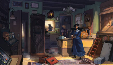 Mecanimus - The Watchmaker's Shop