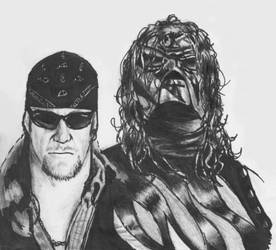Kane and taker by pucksgryn