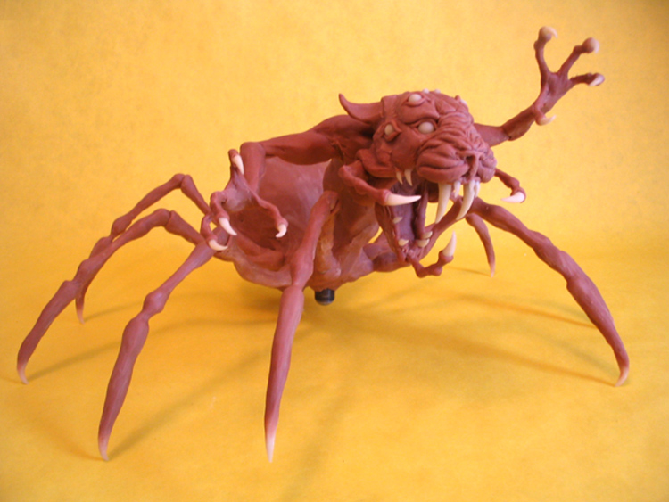 Saber-toothed Arachnicat by shaungent