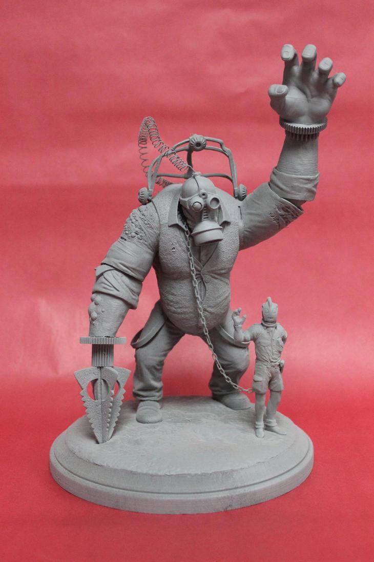 Titan Berserker by shaungent