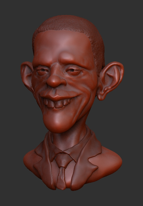 Barack Obama by shaungent