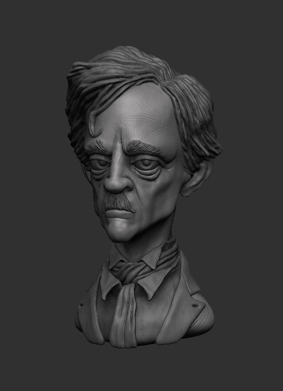 Edgar Allan Poe(Finished) by shaungent