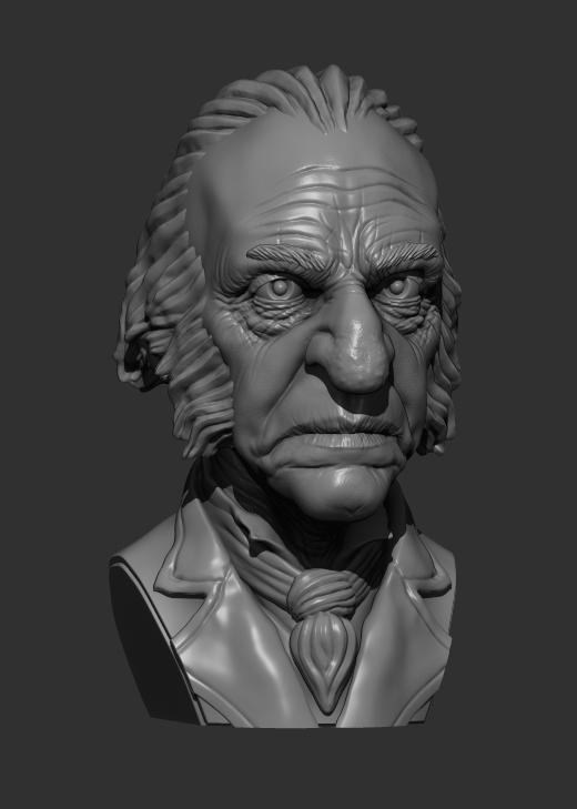 Ebenezer Scrooge by shaungent