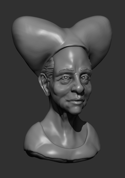 The Duchess (clay sketch) by shaungent