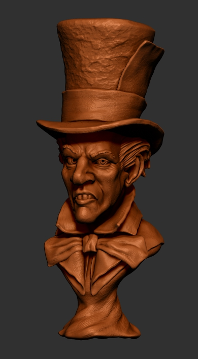 Mad Hatter (Clay Render) by shaungent