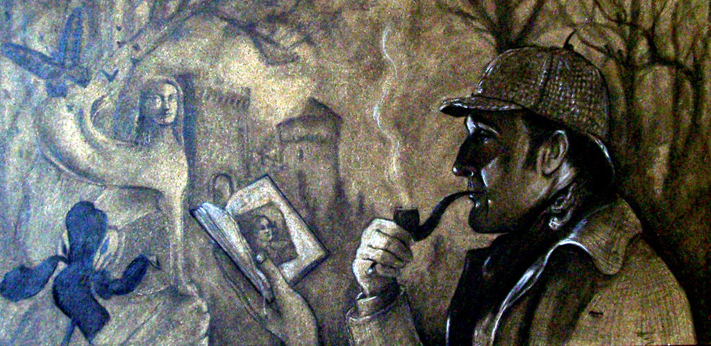 Sherlock Holmes and the mystery of the sphinx crim by Pidimoro