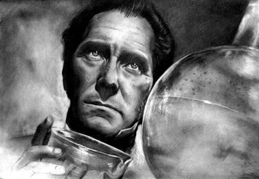 Doctor Frankenstein (Peter Cushing)