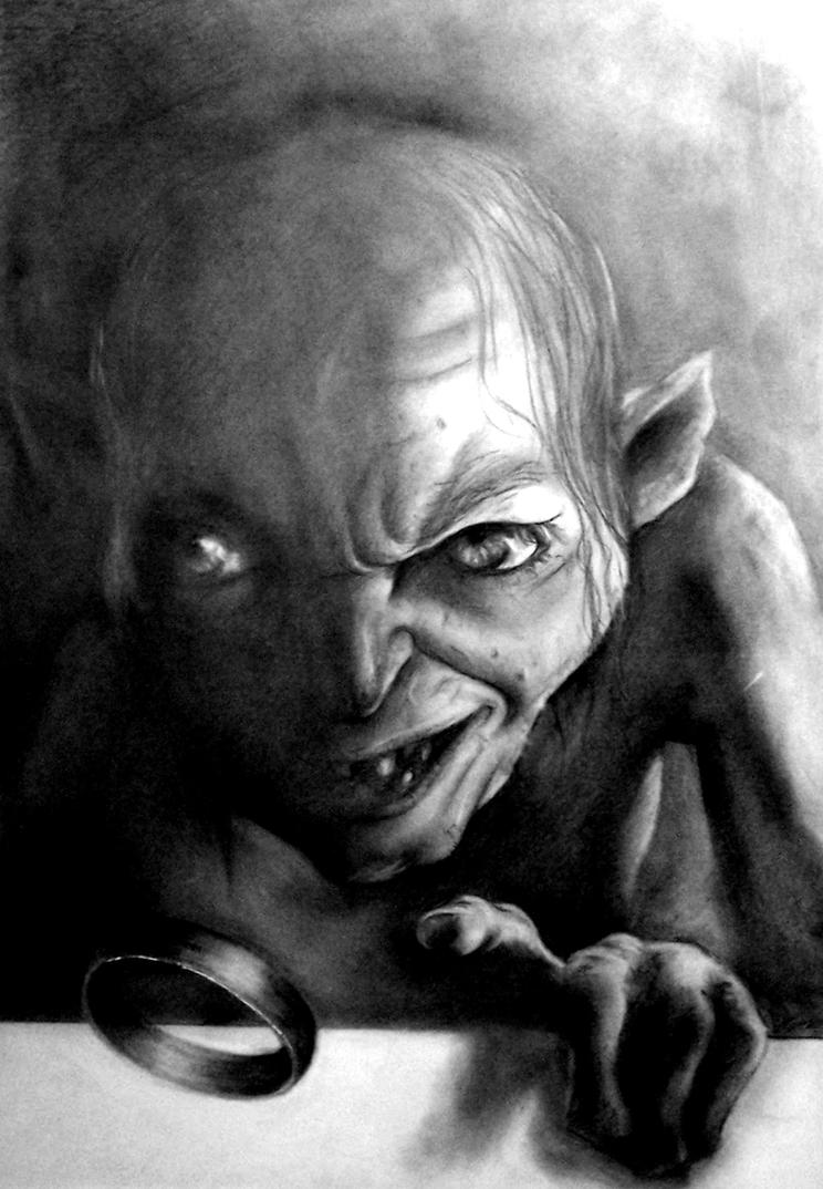 Gollum by Pidimoro