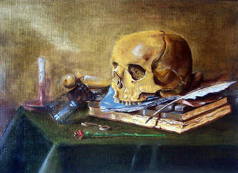 Still life copy from Claesz by Pidimoro