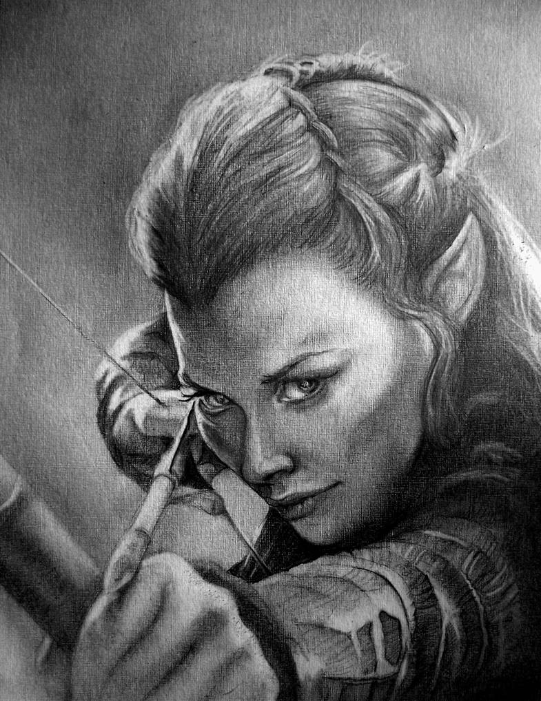 Tauriel by Pidimoro