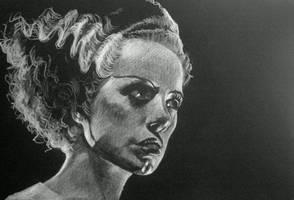 The Bride of Frankestein by Pidimoro