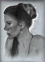 Princess Leila (Carrie Fisher) by Pidimoro