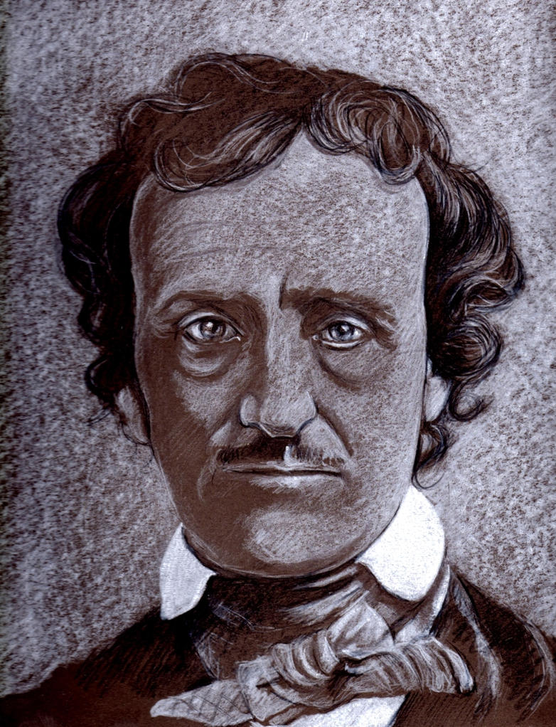 Edgar Allan Poe by Pidimoro