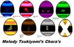 Shugo Chara Oc Melody's Eggs