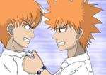 Ichigo and Kyo fight
