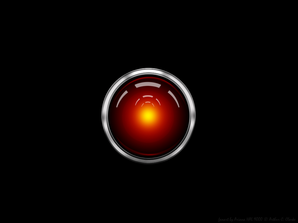 hal 9000 wall by misaki chi on deviantart