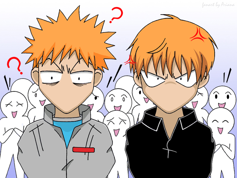 Anime Characters Look Alike : Ichigo and kyo fans by misaki chi on deviantart