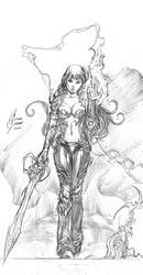 nu witchblade by surfercalavera
