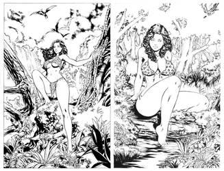 Cavewoman cvrs