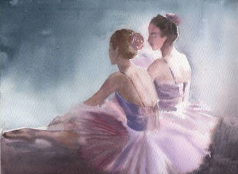 Ballerinas by Marhelf