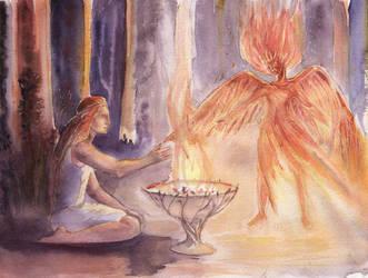 Light my fire by Marhelf