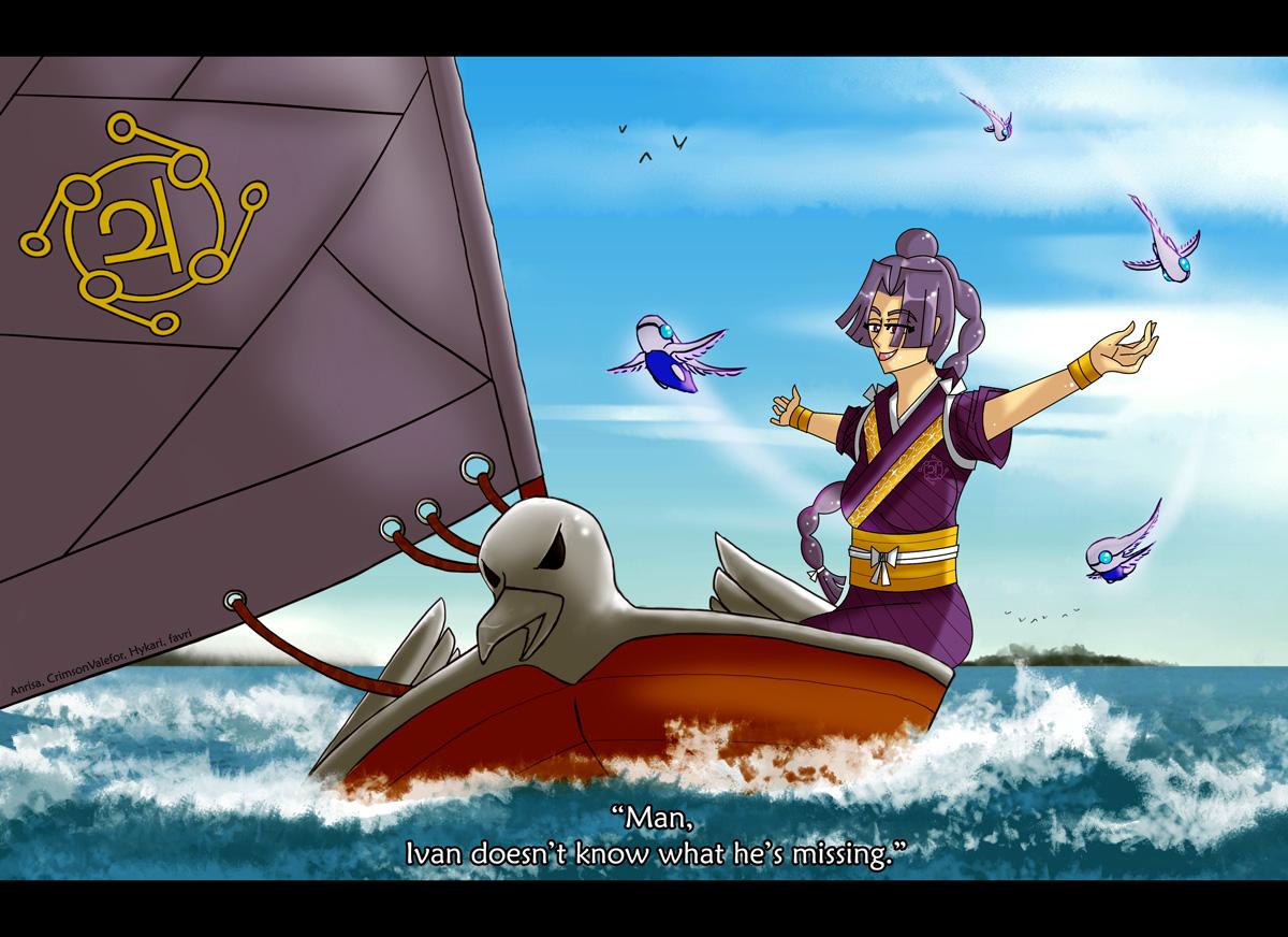 Hama sails by favri