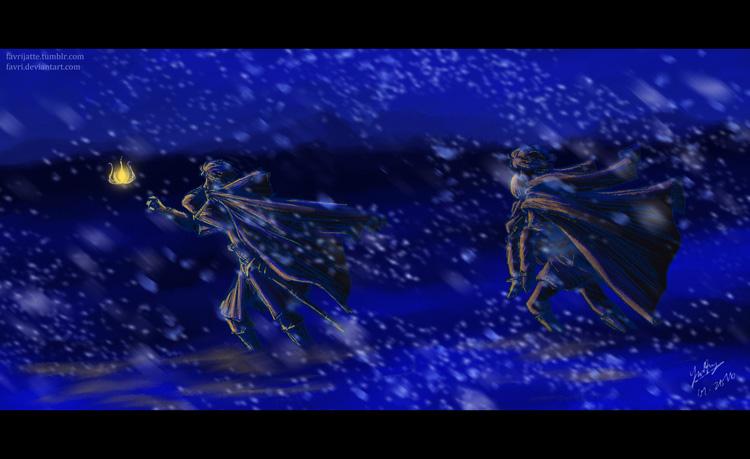 Blizzard by favri