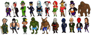 Batman Villains of Gotham