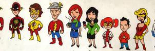 Flash Heroes by Mbecks14