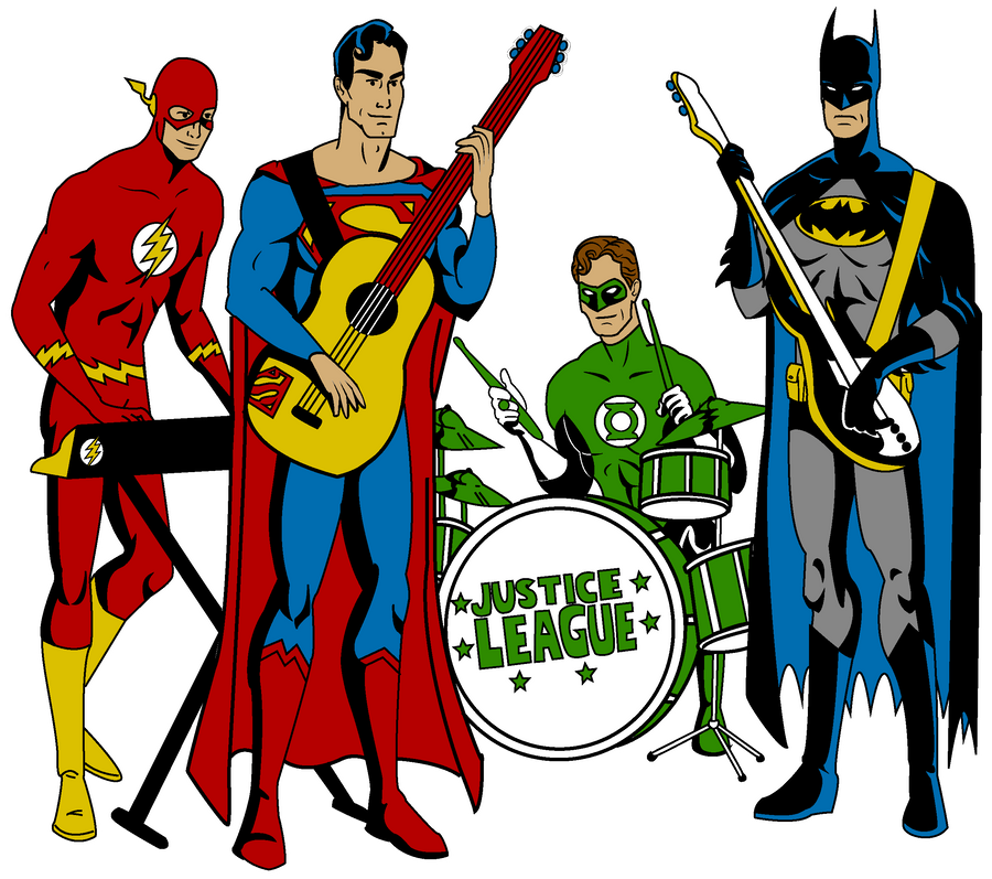 justice league band by mbecks14 on deviantart rh deviantart com justice league clipart free justice league clipart