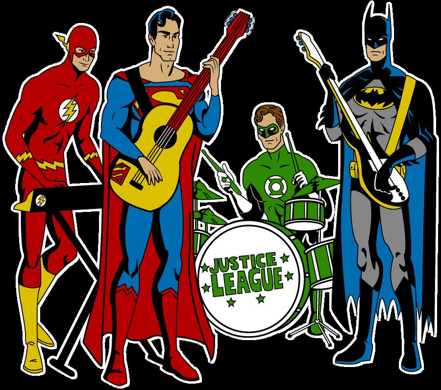justice league band by mbecks14 on deviantart rh deviantart com justice league heroes clipart Justice League Checks