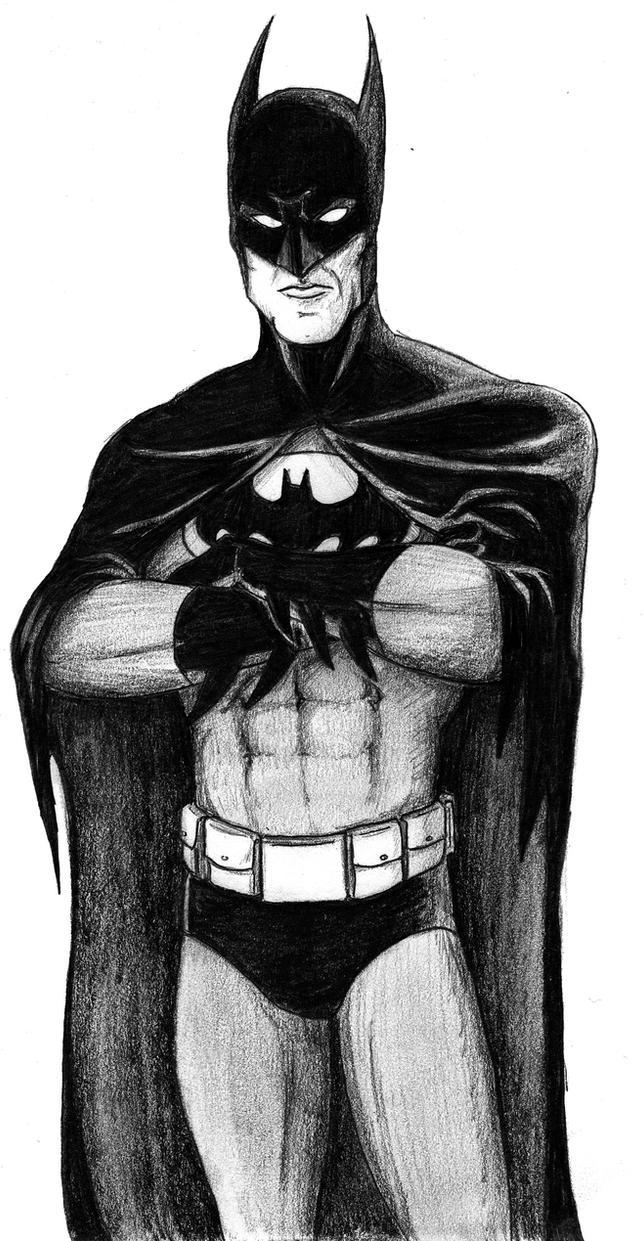 BATMAN by Mbecks14