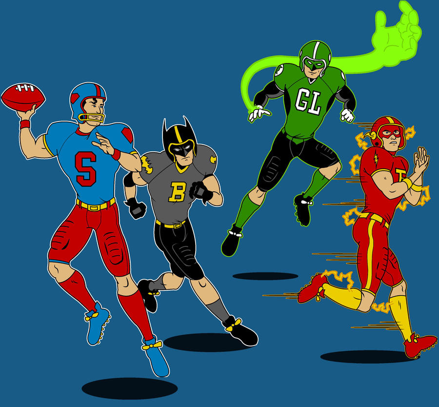 Superhero Football by Mbecks14