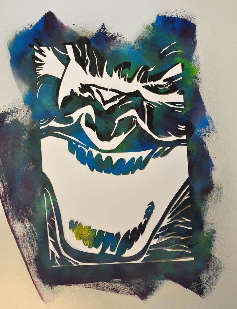 The death of the Joker in Dark Knight by Jolivert