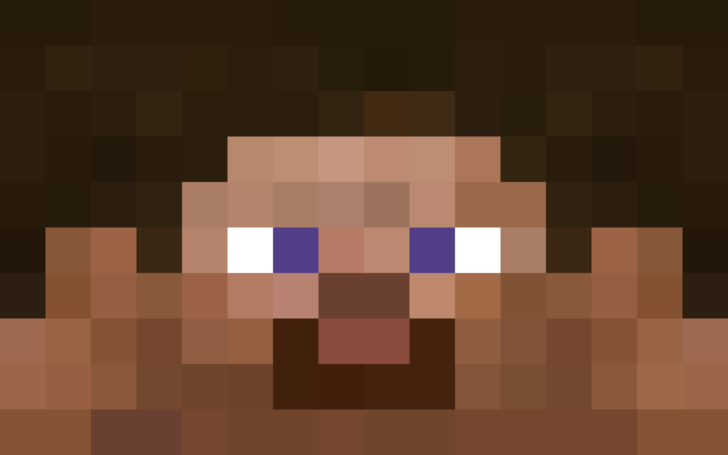 Minecraft Steve Face Wallpaper Auto Design Tech