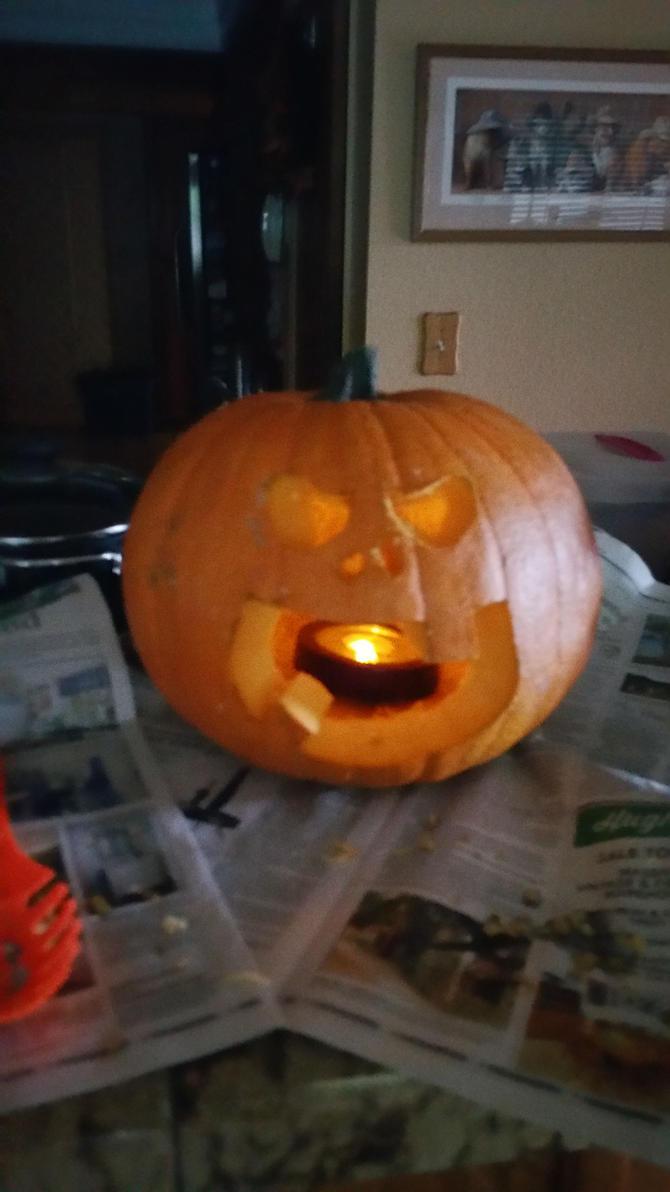 Jack O Lantern, Halloween 2016 by juliusquasar