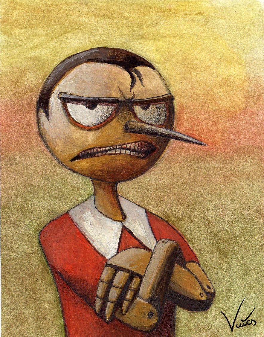 Angry Pinocchio